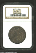 Bust Half Dollars: , 1817 50C MS61 NGC. O-106, R.2. A readily attributable ...
