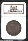 Bust Half Dollars: , 1819 50C MS65 NGC. O-109, R.2. A die line (as made) joins ...