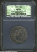 Proof Barber Half Dollars: , 1907 50C Proof, Environmental Damage NCS. The mauve and ...