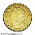 Early Quarter Eagles: , 1824/1 $2 1/2 XF40 PCGS. Bass-3019, the only known dies, ...