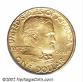 Commemorative Gold: , 1922 G$1 Grant MS66 PCGS. Honey-gold peripheral shadings ...