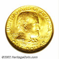Commemorative Gold: , 1922 G$1 Grant with Star MS66 NGC. A beautiful, well ...