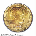 Commemorative Gold: , 1922 G$1 Grant with Star MS67 PCGS. Only 5,016 pieces ...
