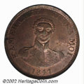 Coins of Hawaii: , 1847 1C Hawaii Cent MS64 Brown PCGS. Crosslet 4, 15 ...