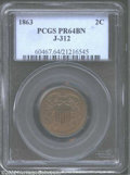 Patterns: , 1863 2C Two Cents, Judd-312, Pollock-377, R.4, PR64 Brown ...