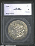 Additional Certified Coins: , 1893-S $1 Morgan Dollar AU55 Old Cleaning SEGS (AU53 Old ...