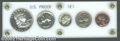 Proof Sets: , An Uncertified 1950 proof set with coins that range from ...