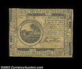 Colonial Notes:Continental Congress Issues, Continental Currency May 10, 1775 $6 About New. A boldly ...