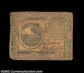Colonial Notes:Continental Congress Issues, Continental Currency July 22, 1776 $6 Fine. A boldly ...