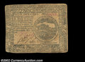 Colonial Notes:Continental Congress Issues, Continental Currency November 2, 1776 $4 Very Fine. A well ...