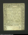 Colonial Notes:Connecticut, July 1, 1780, 5s, Connecticut, CT-237, Choice AU. This is a ...