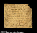 Colonial Notes:Massachusetts, Massachusetts October 16, 1778 8d. Net graded Fine due ...