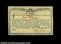 Colonial Notes:New York, New York January 6, 1776 4s Gem New. A super Water Works ...