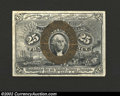 Fractional Currency:Second Issue, Second Issue 25c, Fr-1283, XF-AU. This is a stunning second ...