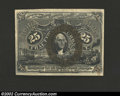 Fractional Currency:Second Issue, Second Issue 25c, Fr-1286, Choice AU. This slightly scarcer ...