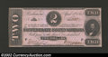 Confederate Notes:1863 Issues, 1863 $2 Judah P. Benjamin, T-61, CU. By far the most difficult ...