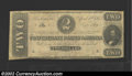 Confederate Notes:1863 Issues, 1863 $2 Judah P. Benjamin, T-61, Very Fine-Extremely Fine. A ...
