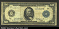 Large Size:Federal Reserve Notes, 1914 $50 Federal Reserve Note, Fr-1048, About Fine. This is a ...