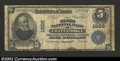 National Bank Notes:Tennessee, Chattanooga, TN - $5 1902 Plain Back Fr. 599 First ...