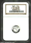 Proof Roosevelt Dimes: , 1963 PR 67 Cameo NGC. ...