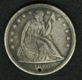 Counterstamps, 1860-O Seated Liberty Dollar Counterstamped....