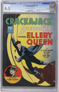 Golden Age (1938-1955):Crime, Crackajack Funnies #25 Lost Valley pedigree (Dell, 1940) CGC FN+ 6.5 Cream to off-white pages....