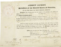 Autographs:U.S. Presidents, Andrew Jackson Presidential Document Signed... (Total: 2 Items)
