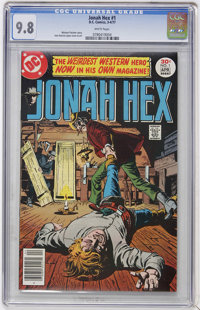 Jonah Hex #1 (DC, 1977) CGC NM/MT 9.8 White pages