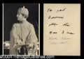 Autographs, Maude Adams Vintage Signed Photograph