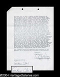 Autographs, American Graffiti--Candy Clark Signed Document
