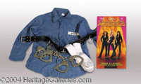 Drew Barrymore Screen Worn Outfit from Charlie's Angels! - A terrific key prop from a blockbuster hit film, presented he...