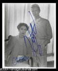 Autographs, David Bowie & Catherine Deneuve Signed Photograph
