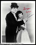 Autographs, Sid Caesar & Imogene Coco Signed Photo