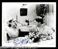 Autographs, James Cagney & Mae Clarke Dual Signed Photograph