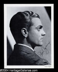 Autographs, James Cagney Signed Photo
