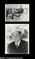 Autographs, Yakima Canutt Signed Photo Lot