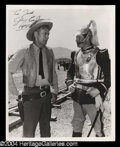Autographs, Gary Cooper Vintage Signed Photograph