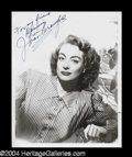 Autographs, Joan Crawford Great Signed Photo