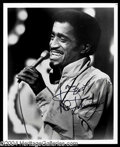 Autographs, Sammy Davis, Jr. Signed 8 x 10 Photo