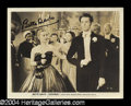 "Autographs, Bette Davis & Henry Fonda Signed ""Jezebel"" Photo"