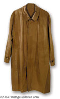 "Autographs, Robert De Niro ""Ronin"" Screen Worn Trench Coat"