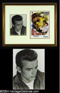 "Autographs, James Dean Scarce Signed ""Rebel"" Photo"