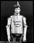 Autographs, Buddy Ebsen Rare Wizard of Oz Signed Photo