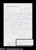 Autographs, Nanette Fabray Signed Letter to Joan Crawford
