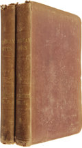 Books:First Editions, Charles Dickens. American Notes for General Circulation. TwoVolumes. London: Chapman and Hall, 1842.. ... (Total: 2 Items)