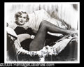 Autographs, Zsa Zsa Gabor Sexy Signed Photograph