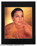 Autographs, Ava Gardner Stunning Signed Photo