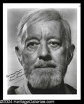 Autographs, Alec Guinness Signed Star Wars Photo