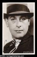 Autographs, Sir Cedric Hardwicke Signed Photograph