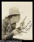 Autographs, William S. Hart Vintage Signed Photograph